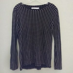 Polka Dot Long Sleeve Top